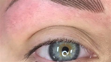 fixing bad eyebrow tattoos permanent make up glasgow