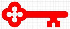 www key bank creating a key logo it connect