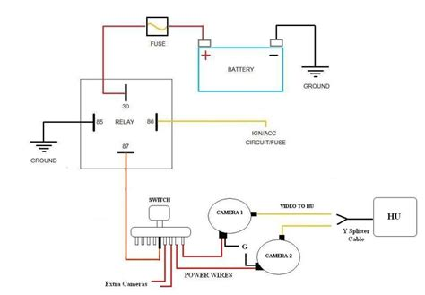 power antenna wiring diagram 28 wiring diagram images