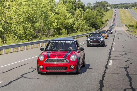 2016 mini takes the states mini takes the states shifts into gear and motors with a