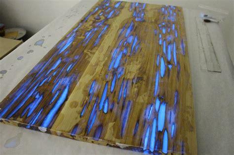 glow in the dark table stunning minimalist glow in the dark table by mike warren