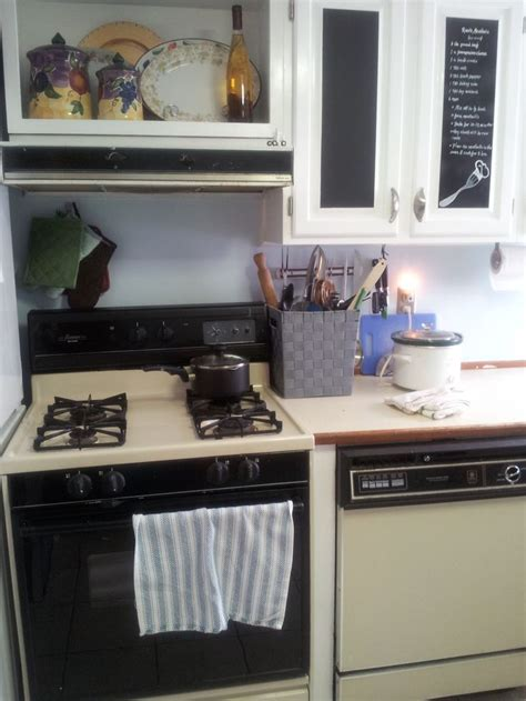 recipes on chalkboard cabinet doors kitchen ideas