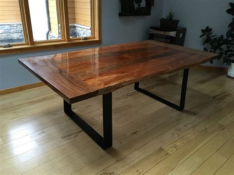 neal s slab dining table the wood whisperer