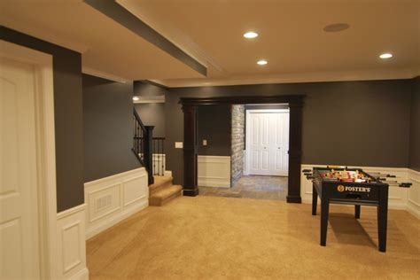 paint colors for basements basement