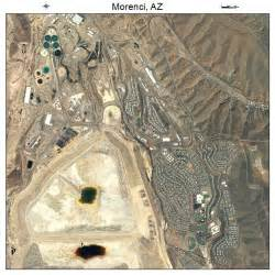 aerial photography map of morenci az arizona