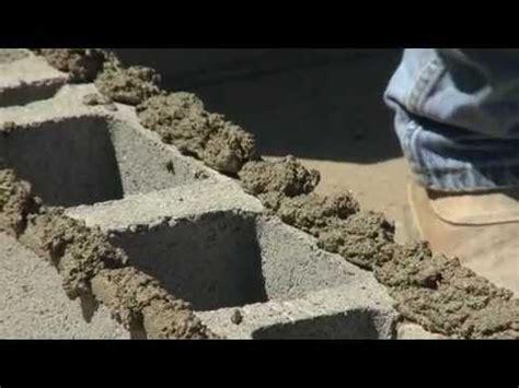 build  block wall youtube