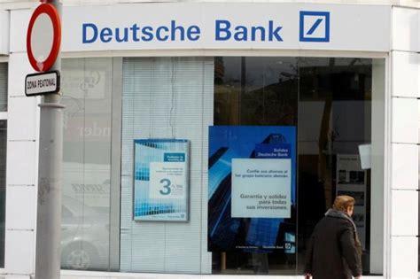 Deutsche Bank Se Desploma En Bolsa Tras El Anuncio De