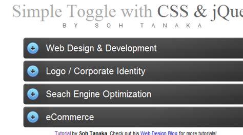 tutorial jquery toggle 19 unique jquery tutorials for web developers web design