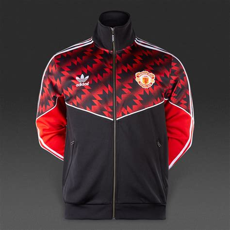 adidas originals manchester united tracktop mens
