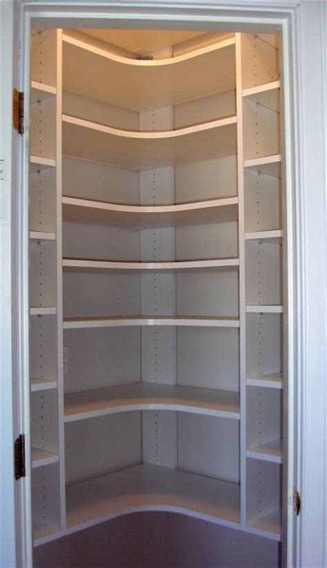 Corner Pantry Shelving by Best 10 Corner Closet Ideas On Corner Pantry