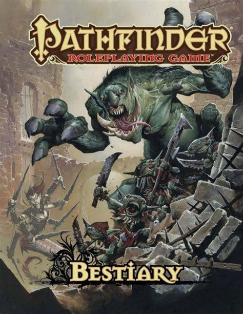 paizo pathfinder roleplaying bestiary ogl