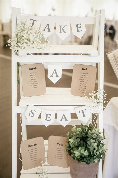 25  best ideas about Rustic seating charts on Pinterest