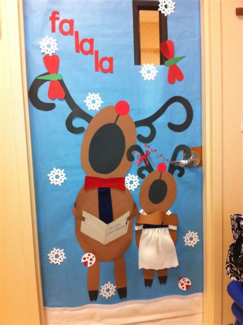 school door christmas decorating ideas awesome classroom decorations for winter