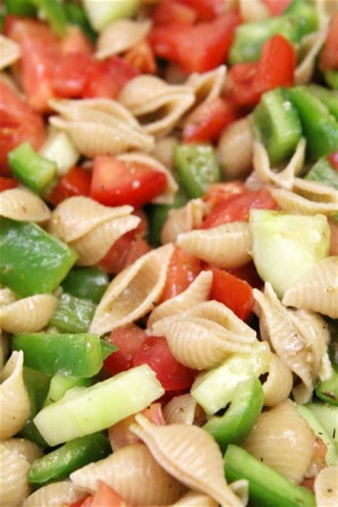 tasty pasta salad simple greek vinaigrette pasta salad tasty kitchen a