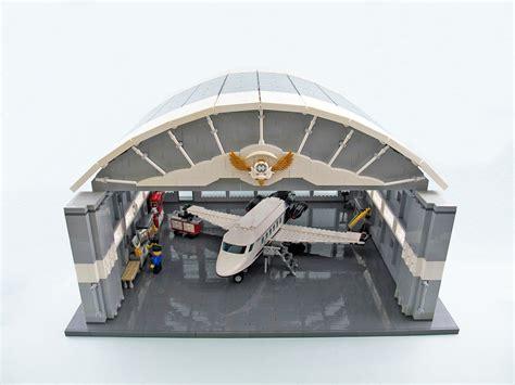 Hangar Avion by Hangar Pour Avion Hellobricks Lego