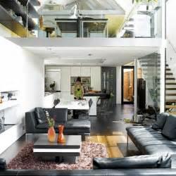 Open Plan House Three Storey Glass Extension