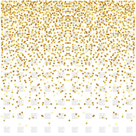 gold wallpaper clipart abstract golden confetti background royalty free vector