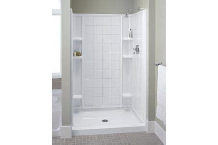 Tile Shower Kit by Sterling 72130100 0 Ensemble Tile Shower Kit 60 Quot X 34 Quot X