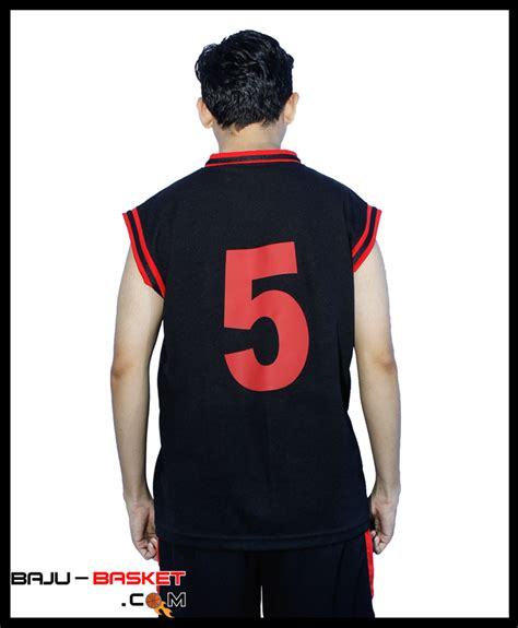 Membuat Baju Basket kaos basket gakuen jb 16