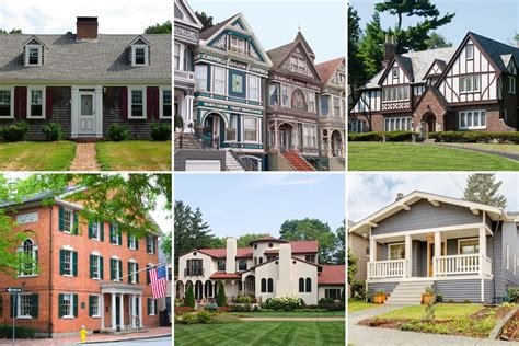 architectural home styles popular american architectural styles and characteristics