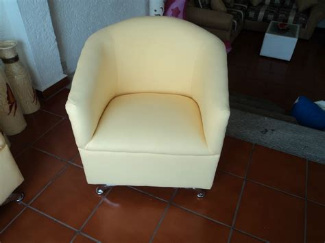 sillon ocasional sala de espera minimalista economico puff  en mercado libre
