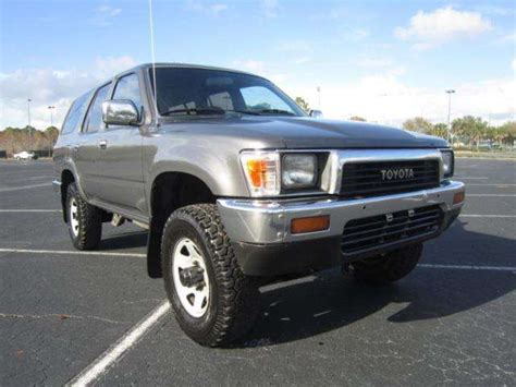 1990 Toyota 4runner For Sale 1990 Toyota 4runner For Sale From Orlando Florida Adpost