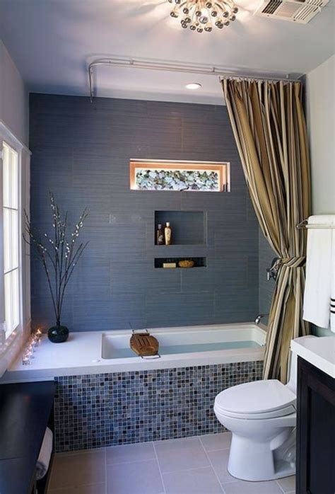 Gray And Blue Bathroom Ideas 35 Blue Gray Bathroom Tile Ideas And Pictures