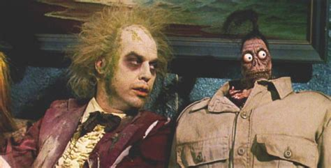 beetlejuice couch tim burton in talks for beetlejuice 2