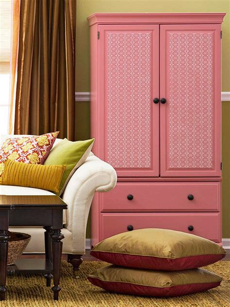 pink armoire 10 brightly colored furniture pieces