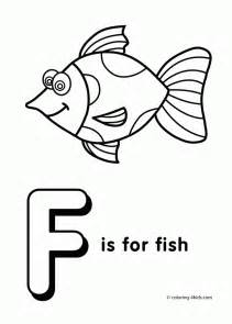 Coloring pages for preschool letter f coloring pages of alphabet