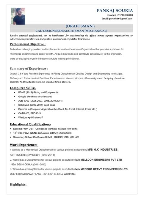 application letter for autocad draftsman drafter resume exles drafting resume exles draftsman