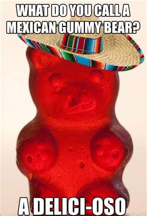 Gummy Bear Meme - a mexican gummy bear