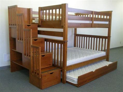 Bunk Bed With Stairs Plans Bunk Bed Plans With Stairs Woodworking Projects Plans