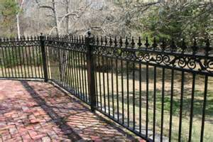 antique wrought iron fence architectural design