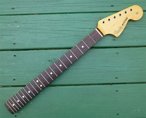 fender mustang neck for sale fender mustang 1965 neck vintage sixties fullerton usa