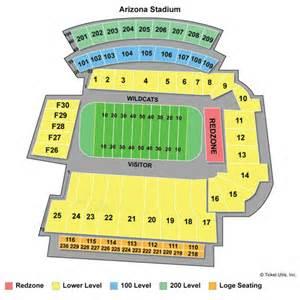 of arizona stadium map arizona wildcats tickets 2017 az wildcats football tickets
