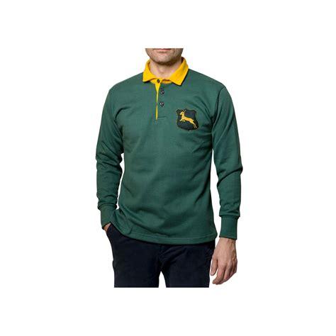 maillot rugby afrique du sud  sports depoque
