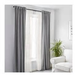 Ikea White Curtains Alvine Spets Net Curtains 1 Pair White 145x300 Cm Ikea