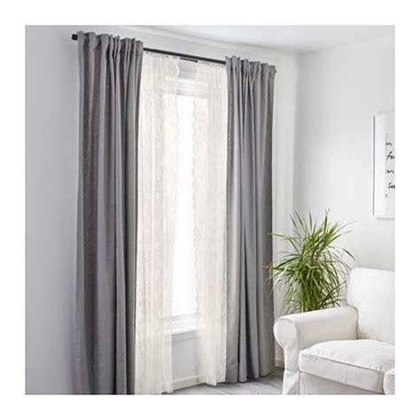 ikea net curtains alvine spets net curtains 1 pair off white 145x300 cm ikea