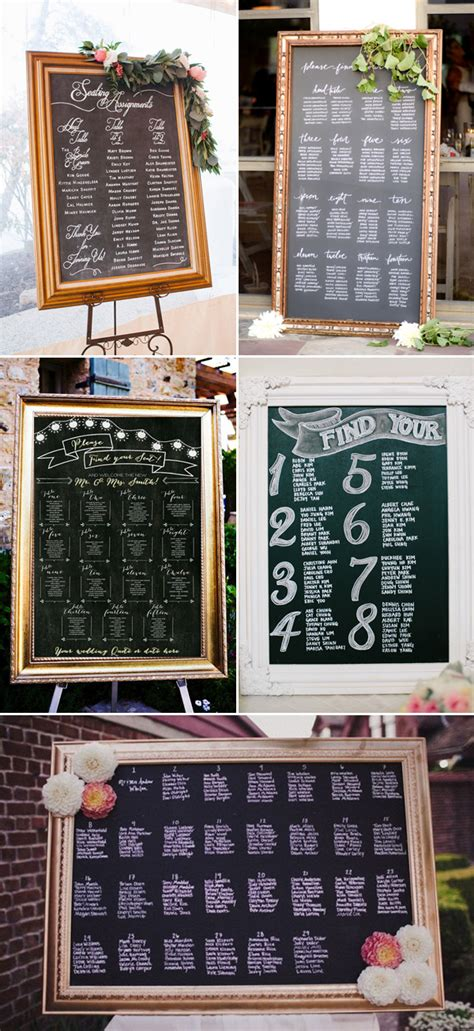 27 creative seating chart ideas your guests will 27 creative seating chart ideas your guests will praise wedding