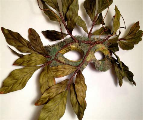 Masker Nature sale nature spirit tree mask wearable wall green