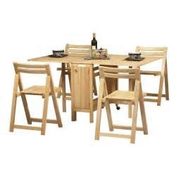Folding Dining Room Table Folding Dining Table Set Homefurniture Org