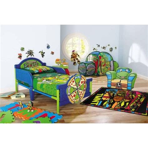 tmnt bedroom accessories nickelodeon teenage mutant ninja turtles toddler bedroom