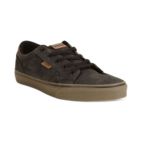 vans sneakers mens vans bishop sneakers in black for black gum lyst