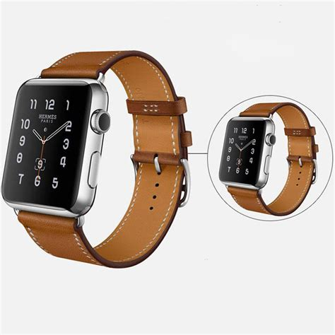 Leather Band For Apple 38mm 42mm genuine leather band bracelet watchband for apple