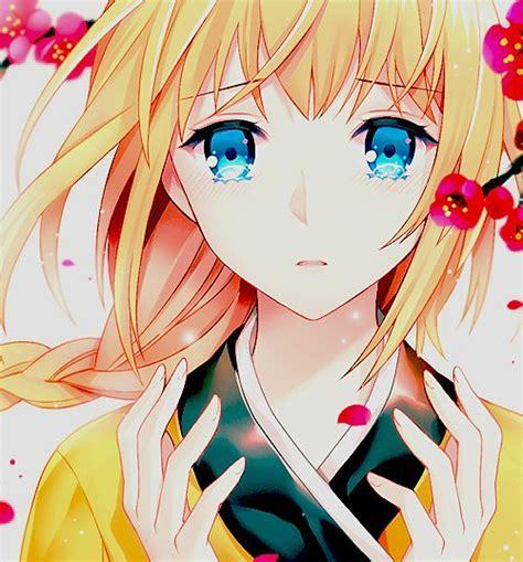 wallpaper anime we heart it anime girl crying we heart it anime pinterest