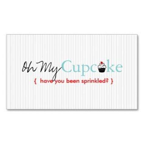 cookie business card template on popscreen