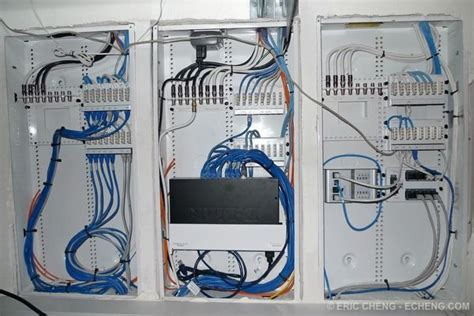 home network wiring design centrally located home network wiring closet allows