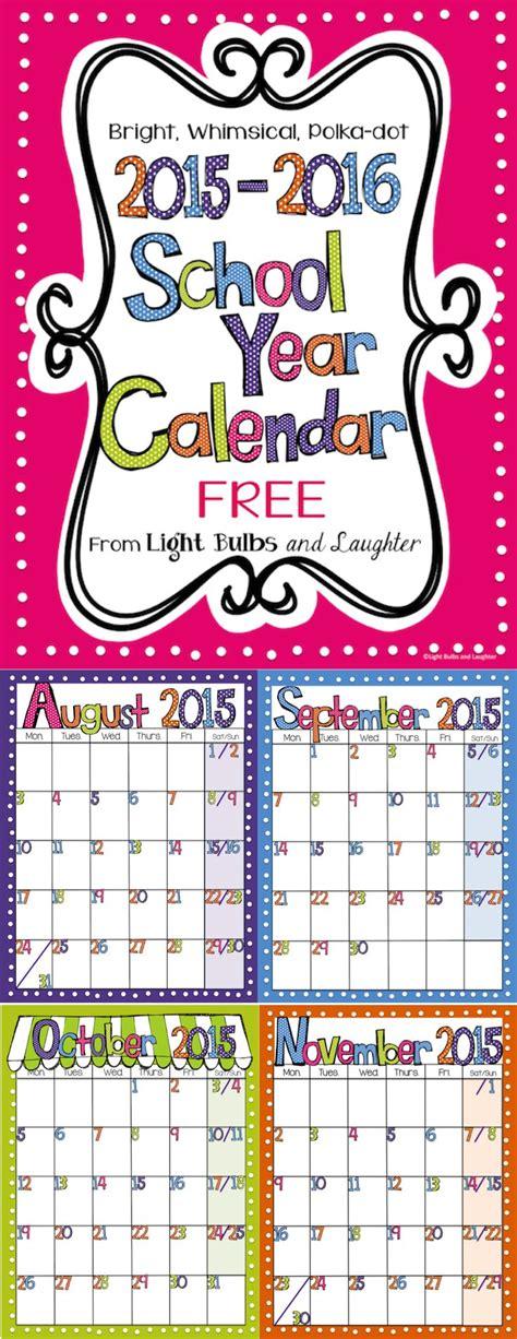 school year calendar st clair cds board