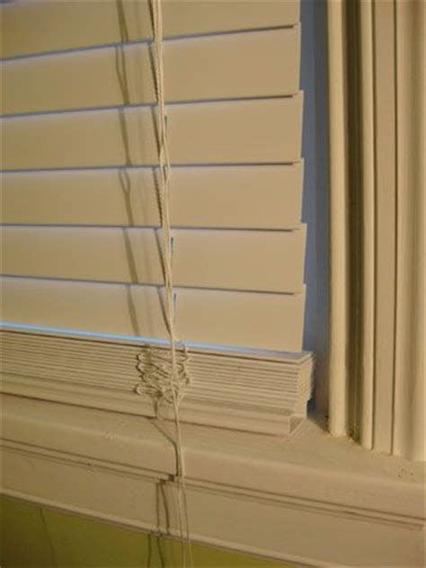 Ikea Faux Wood Blinds how to make no sew curtains that make a window look bigger